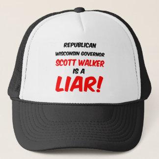 governor scott walker trucker hat