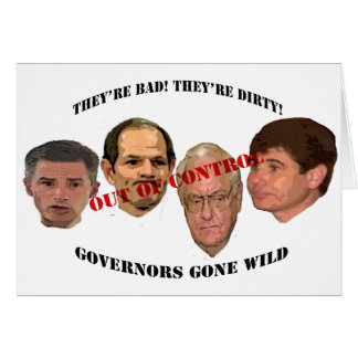 governors gone wild card