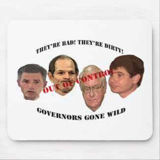 governors gone wild mouse pad