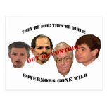governors gone wild post card
