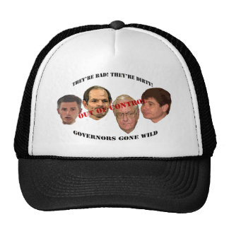 governors gone wild trucker hat