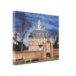 Governor's Mansion Canvas Print