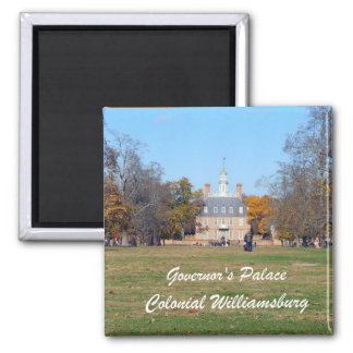 Governor's Palace, Colonial Williamsburg Refrigerator Magnet
