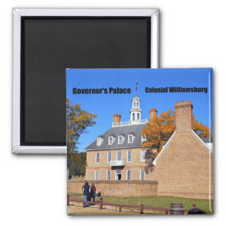 Governor's Palace, Colonial Williamsburg Magnet