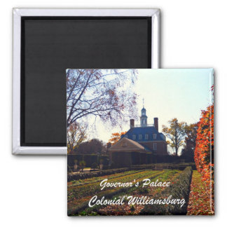 Governor's Palace, Colonial Williamsburg Magnets