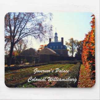 Governor's Palace, Colonial Williamsburg Mouse Pad