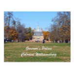 Governor's Palace, Colonial Williamsburg Post Card