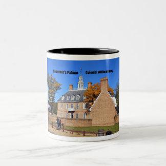 Governor's Palace, Colonial Williamsburg Two-Tone Coffee Mug