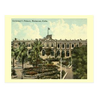 Governor's Palace, Matanzas, Cuba Vintage Postcard