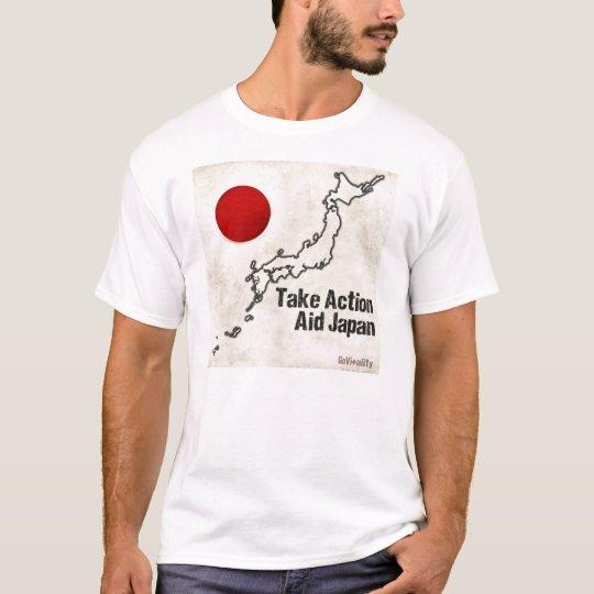 GoVitality - Take Action Aid Japan T-Shirt