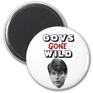 Govs Gone Wild 2 Inch Round Magnet