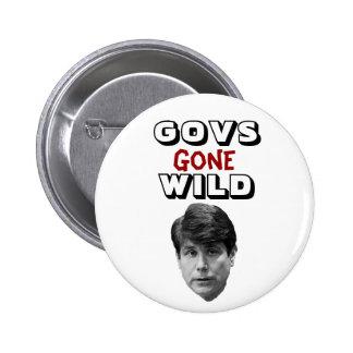 Govs Gone Wild Pinback Button