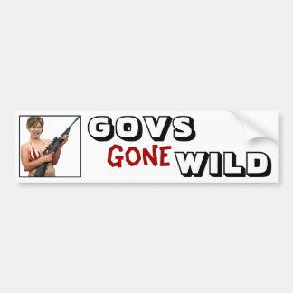 Govs Gone Wild: Sarah Palin Bumper Stickers