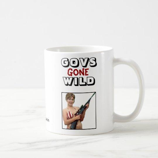 Govs Gone Wild: Sarah Palin Coffee Mug