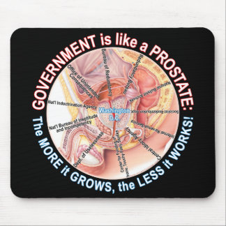 Gov't is like a Prostate Mouse Pad