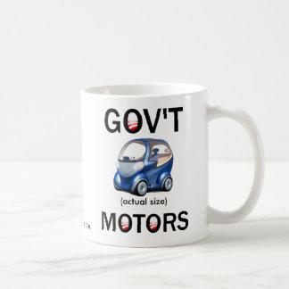 GOV'T MOTORS CLASSIC WHITE COFFEE MUG