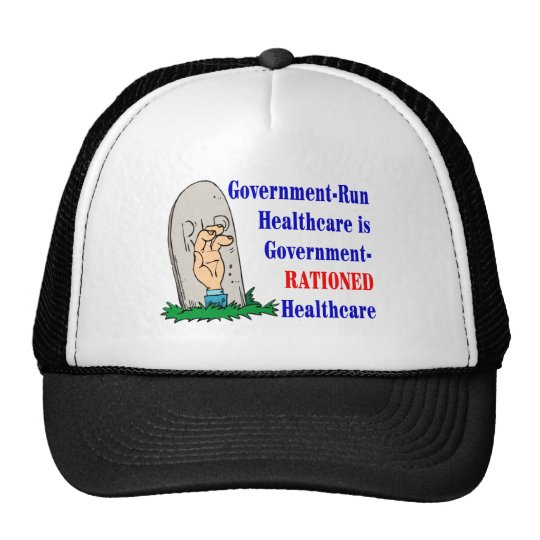 Govt Run/Rationed Trucker Hat