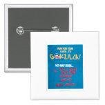 GOVZILLA-design Pinback Buttons