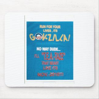 GOVZILLA-diseño Mouse Pads