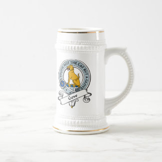 Gow Clan Badge Beer Stein
