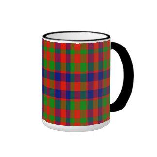 Gow Scottish Tartan Ringer Mug