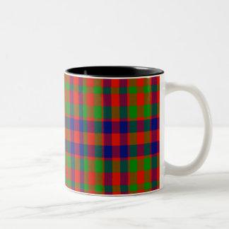 Gow Scottish Tartan Two-Tone Coffee Mug