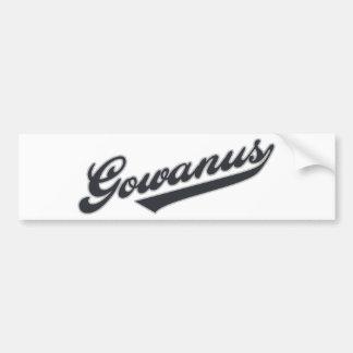 Gowanus Car Bumper Sticker