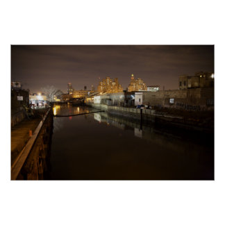 Gowanus Canal Nocturne Posters