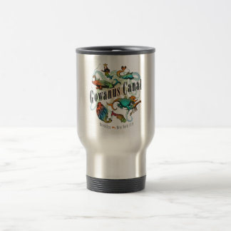 Gowanus Canal of Brooklyn, NY 15 Oz Stainless Steel Travel Mug