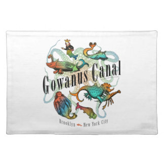 Gowanus Canal of Brooklyn, NY Placemats
