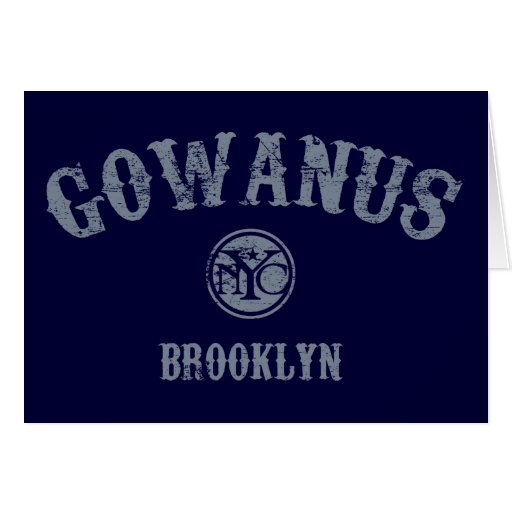 Gowanus Greeting Card