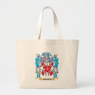 Gowen Coat of Arms - Family Crest Canvas Bag