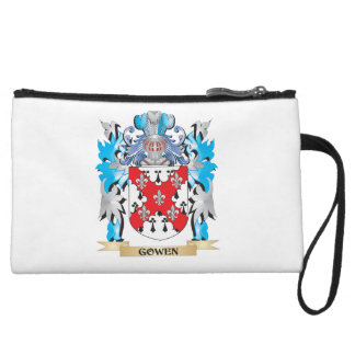 Gowen Coat of Arms - Family Crest Wristlet Clutches