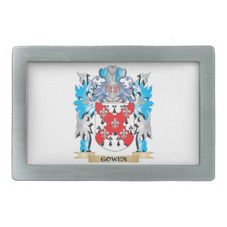Gowen Coat of Arms - Family Crest Belt Buckle