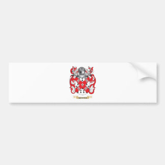 Gowen Coat of Arms (Family Crest) Bumper Stickers