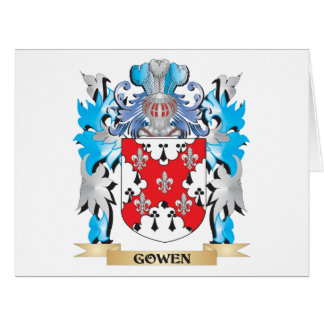 Gowen Coat of Arms - Family Crest Greeting Card
