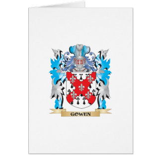 Gowen Coat of Arms - Family Crest Card