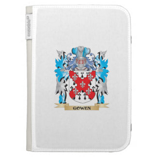 Gowen Coat of Arms - Family Crest Kindle Cover