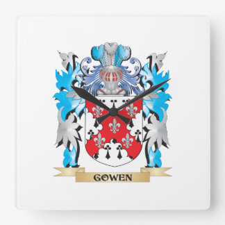 Gowen Coat of Arms - Family Crest Clocks