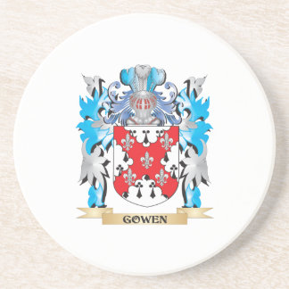Gowen Coat of Arms - Family Crest Beverage Coaster