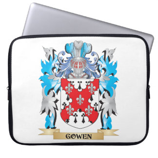 Gowen Coat of Arms - Family Crest Laptop Sleeve