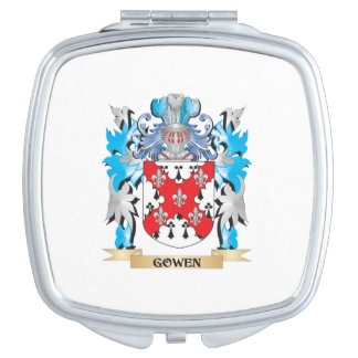 Gowen Coat of Arms - Family Crest Travel Mirrors