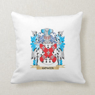 Gowen Coat of Arms - Family Crest Pillows