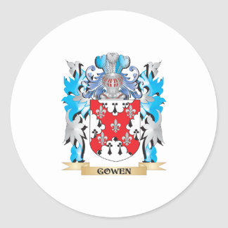Gowen Coat of Arms - Family Crest Stickers