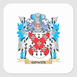 Gowen Coat of Arms - Family Crest Sticker
