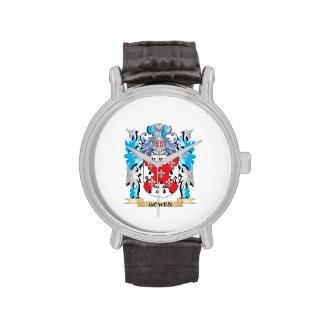 Gowen Coat of Arms - Family Crest Watches