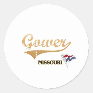 Gower Missouri City Classic Classic Round Sticker