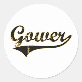 Gower Missouri Classic Design Classic Round Sticker