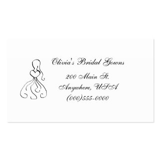 """""""Gown"""" Business Card"""