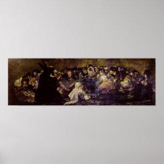 Goya: Cabra; o impresión del Sabat de las brujas Posters